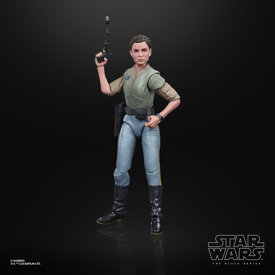 Star Wars The Black Series ROTJ Leia Endor 6 Inch Action Figure PRE-ORDER