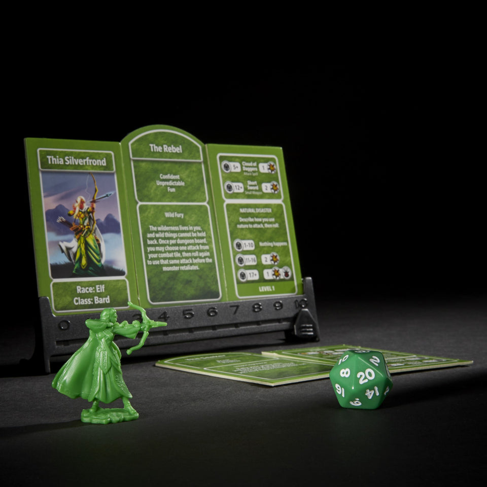Dungeons & Dragons The Adventure Begins Board Game