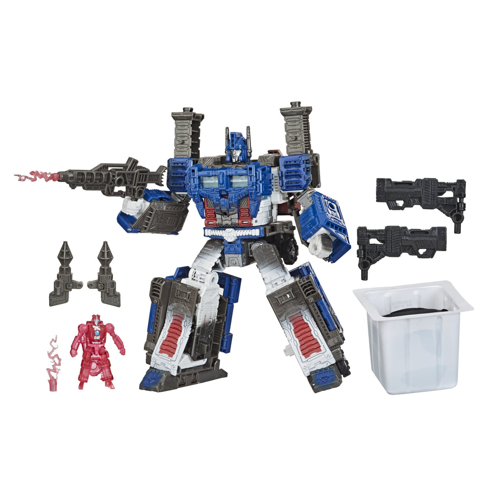 Transformers Exclusive War for Cybertron Inspired Leader Ultra Magnus Spoiler Pack