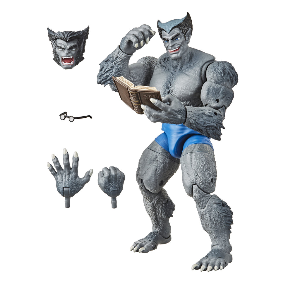 Marvel Legends Exclusive Vintage Beast Figure 6 Inch Action Figure