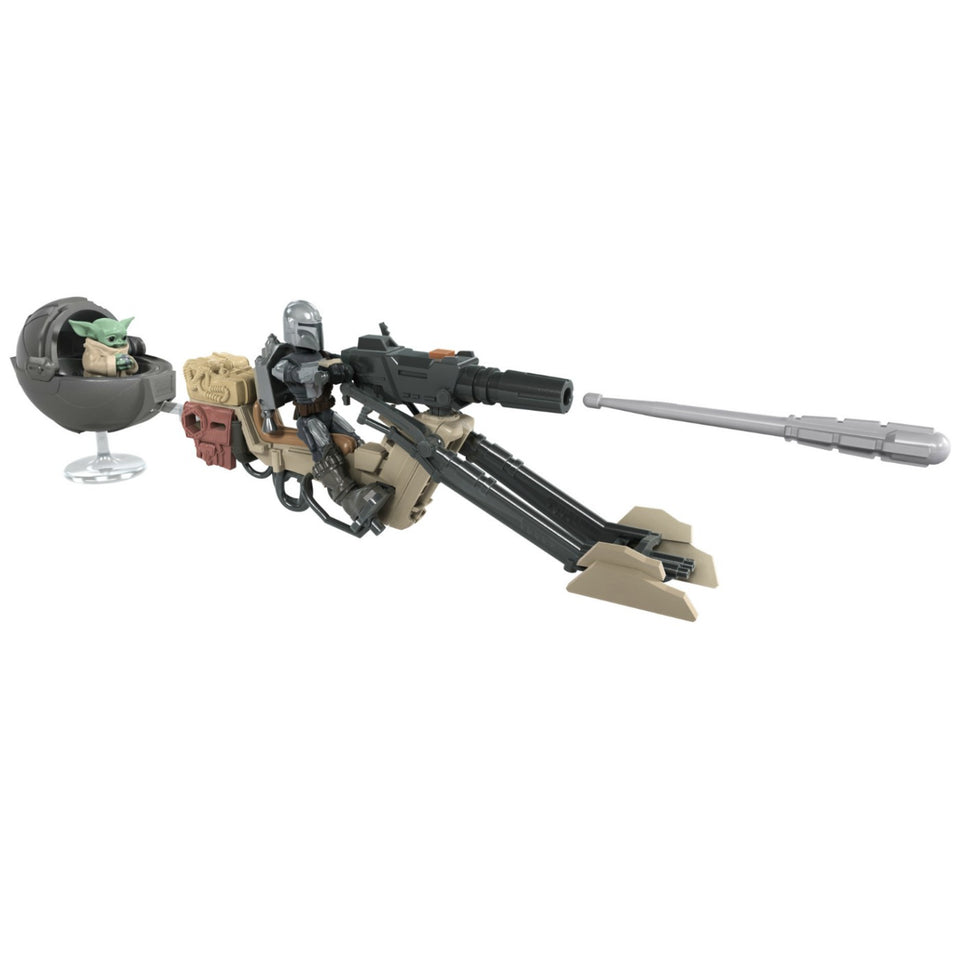 Star Wars Mission Fleet Expedition Class The Mandalorian The Child Battle for the Bounty 2.5 Inch Figures & Vehicle