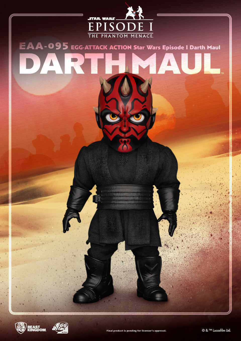 Star Wars Episode I Darth Maul Egg Attack Action PRE-ORDER