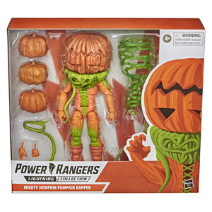 Power Rangers Lightning Collection Mighty Morphin Pumpkin Rapper 6 Inch Action Figure