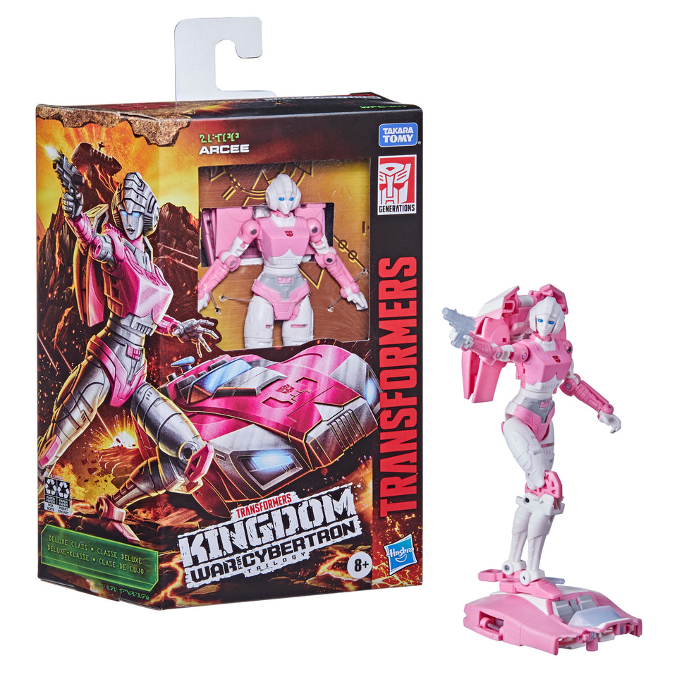 Transformers Generations WFC Kingdom Deluxe Wave 2 Arcee Action Figure PRE-ORDER