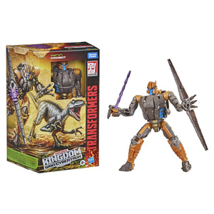 Transformers Generations WFC Kingdom Wave 2 Voyager Dinobot Action Figure