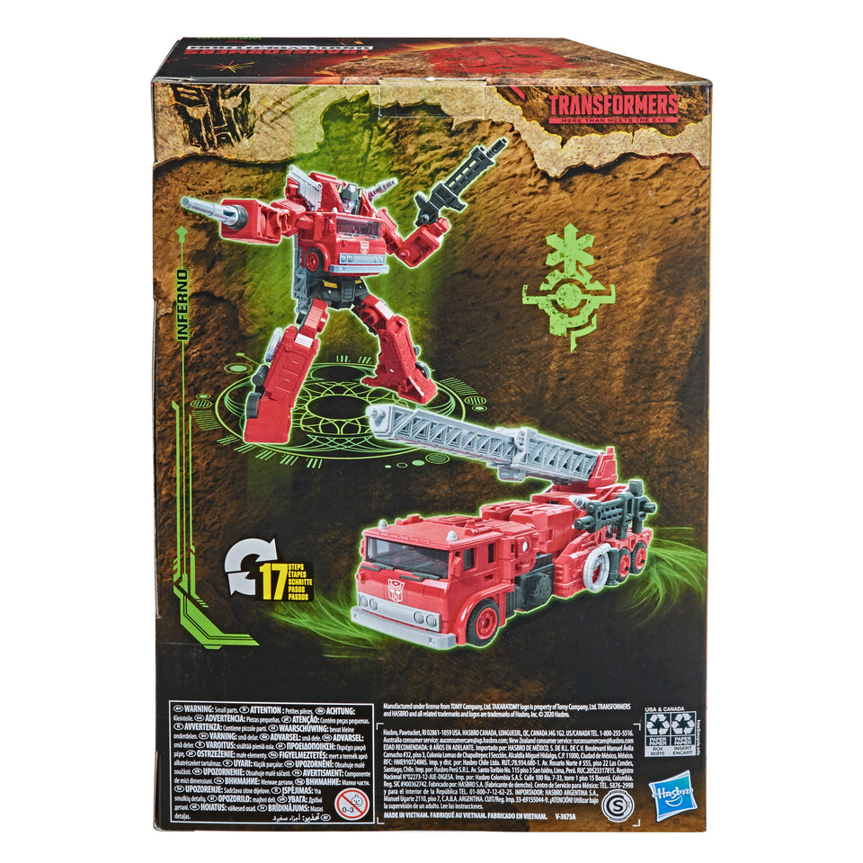 Transformers Generations WFC Kingdom Wave 2 Voyager Inferno Action Figure PRE-ORDER