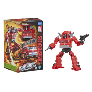 Transformers Generations WFC Kingdom Wave 2 Voyager Inferno Action Figure