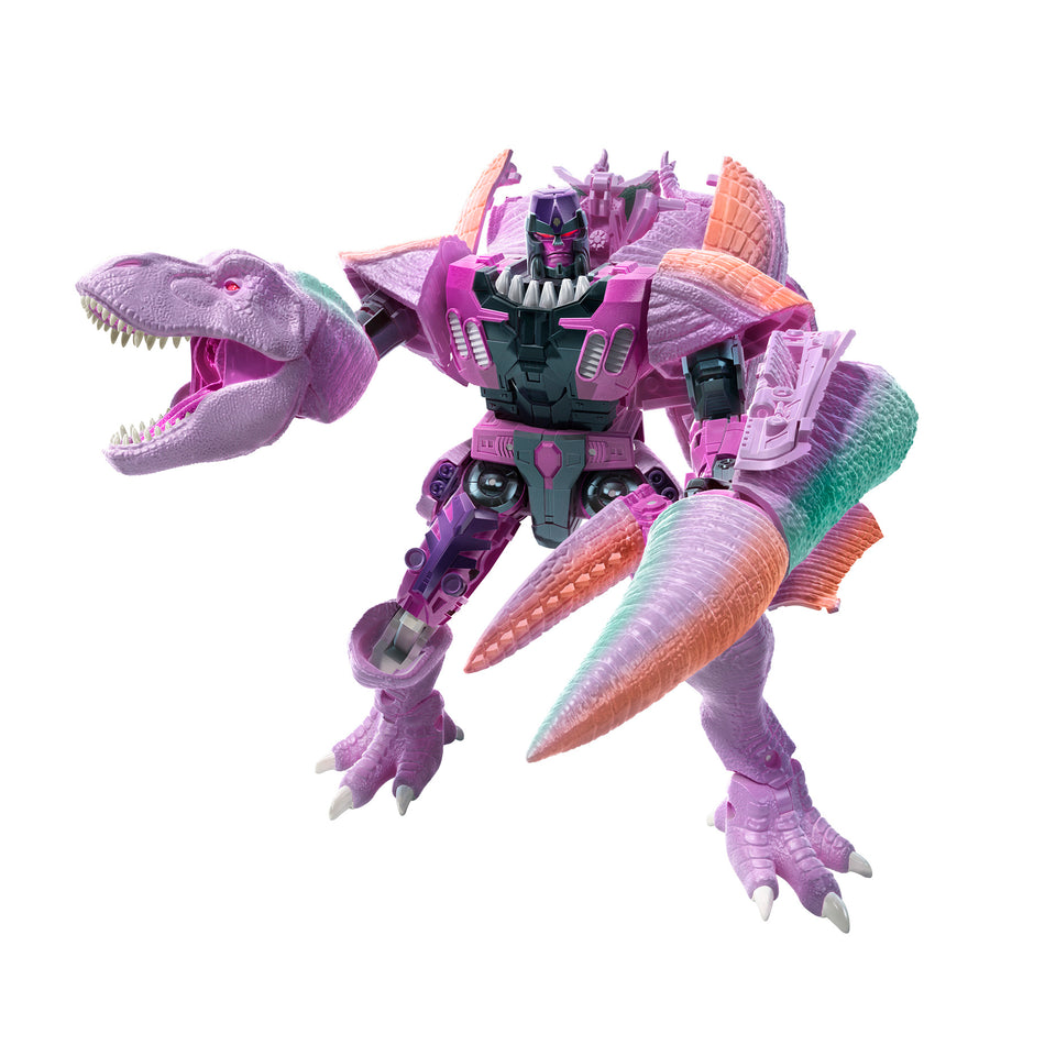 Transformers Generations WFC Kingdom Leader T-Rex Megatron Action Figure