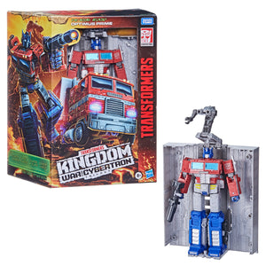 Transformers Generations WFC Kingdom Leader Optimus Prime
