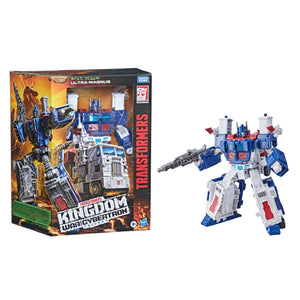 Transformers Generations WFC Kingdom Wave 2 Leader Ultra Magnus Action Figure