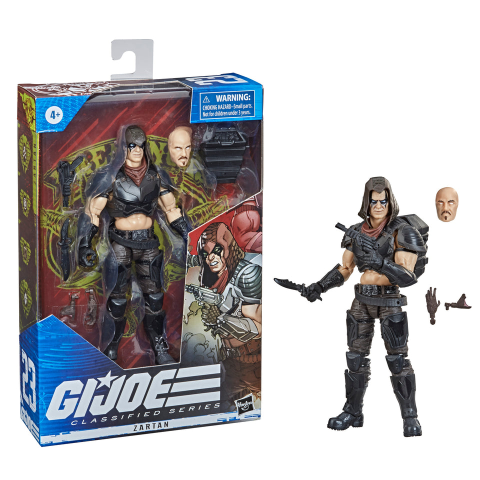 GI JOE Classified Collection Classic Zartan 6 Inch Action Figure PRE-ORDER