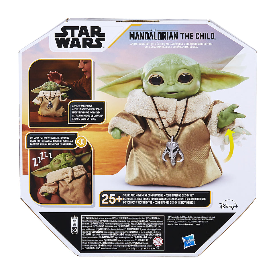 Star Wars The Child Grogu Animatronic Edition with Over 25 Sound and Motion Combinations