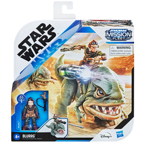 Star Wars Mission Fleet Expedition Class Wave 2 Kuill on Blurrg 2.5 Inch Figure & Vehicle