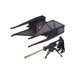 Star Wars Mission Fleet Stellar Class Kylo Ren and Tie Whisper