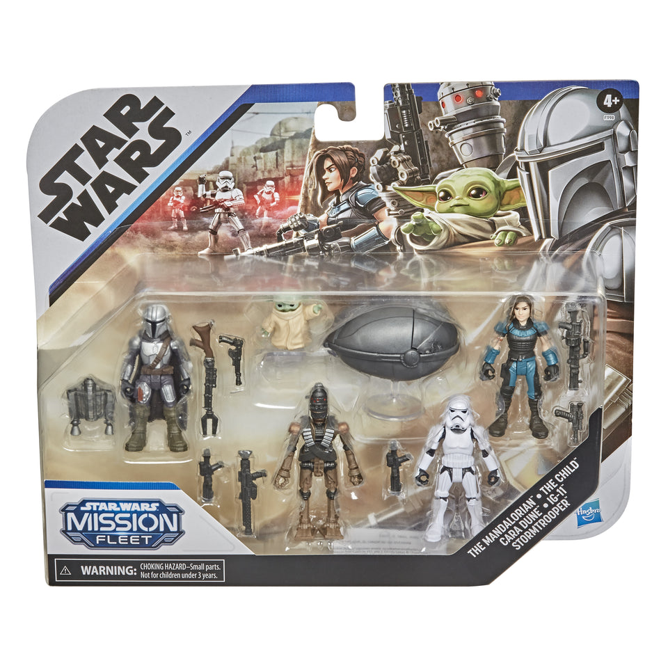 Star Wars Mission Fleet The Mandalorian Defend the Child Pack 2.5 Inch Action Figure Set PRE-ORDER