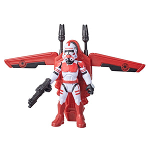 Star Wars Mission Fleet Gear Class Shock Trooper Secure the City 2.5 Inch Figure and Vehicle
