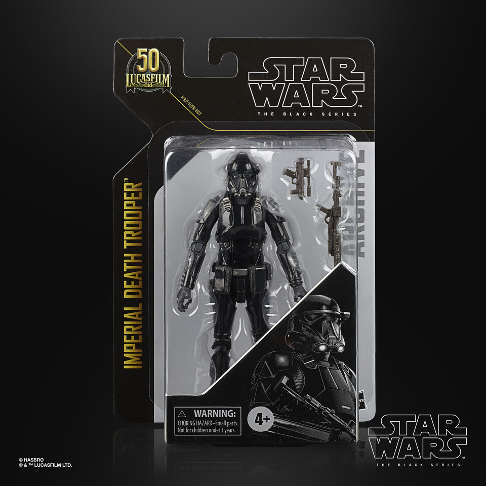 Star Wars The Black Series Archive Imperial Death Trooper 6 Inch Action Figure PRE-ORDER
