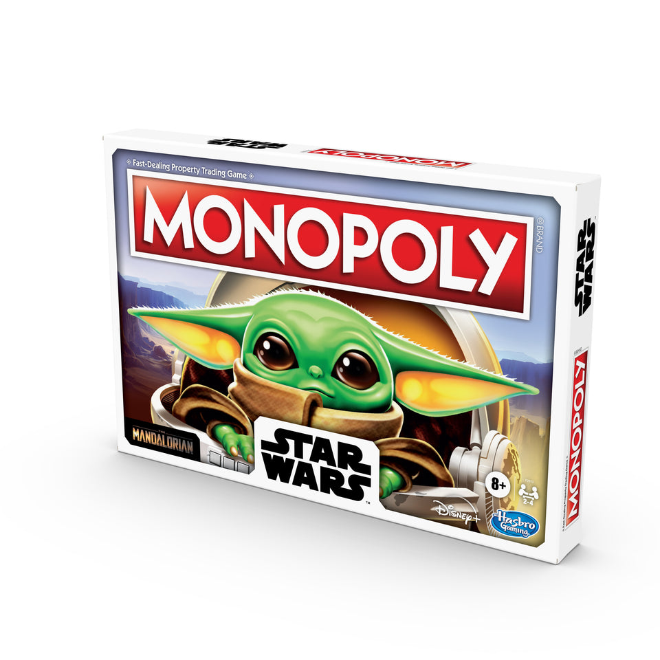Star Wars The Mandalorian The Child Monopoly Board Game