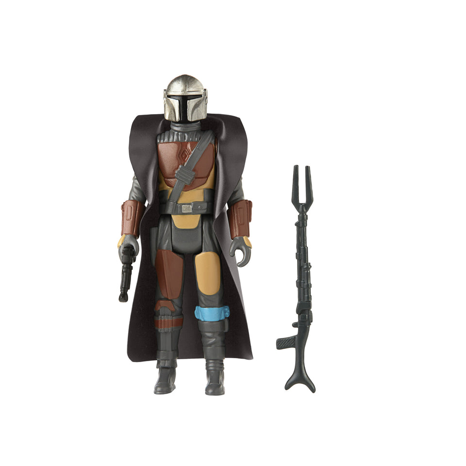 Star Wars The Mandalorian Retro Collection The Mandalorian 3.75 Inch Action Figure PRE-ORDER
