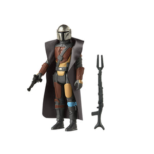 Star Wars The Mandalorian Retro Collection The Mandalorian 3.75 Inch Action Figure
