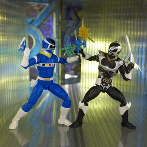 Power Rangers Lightning Collection In Space Blue Ranger VS Silver Psycho Ranger 2 Pack PRE-ORDER
