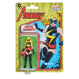 Marvel Legends Retro Collection Carol Danvers 3.75 Inch Action Figure