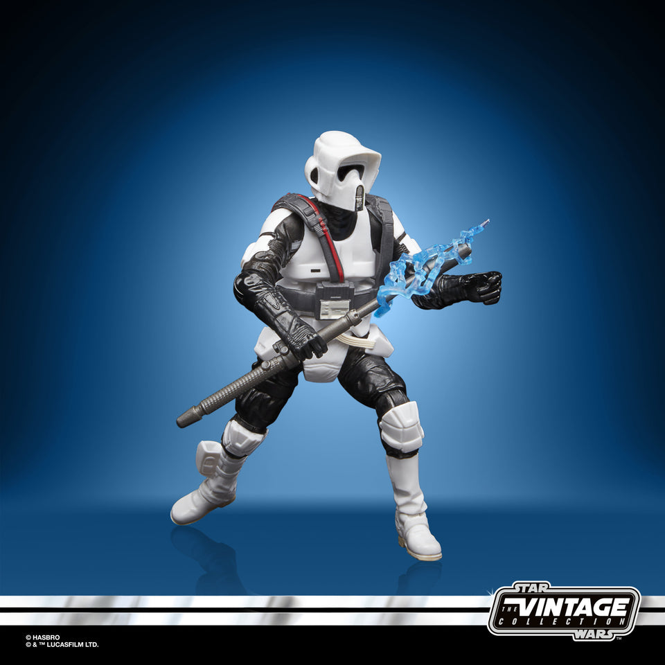 Star Wars The Vintage Collection Gaming Greats Scout Trooper with Shock Baton 3.75 Inch Action Figure PRE-ORDER