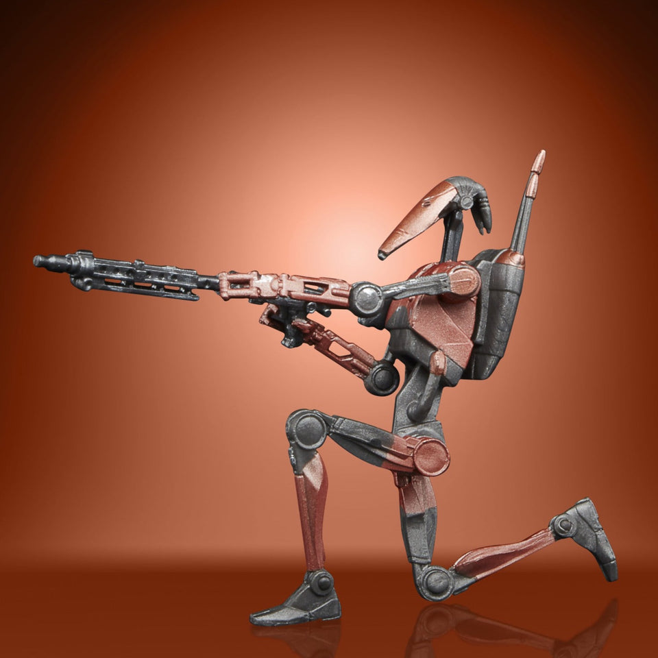 Star Wars The Vintage Collection Gaming Greats Battlefront II Heavy Battle Droid 3.75 Inch Action Figure PRE-ORDER