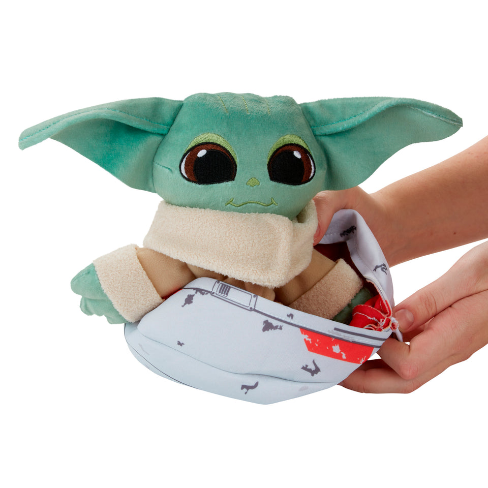 Star Wars Grogu The Child Hideaway Hover-Pram Plush PRE-ORDER