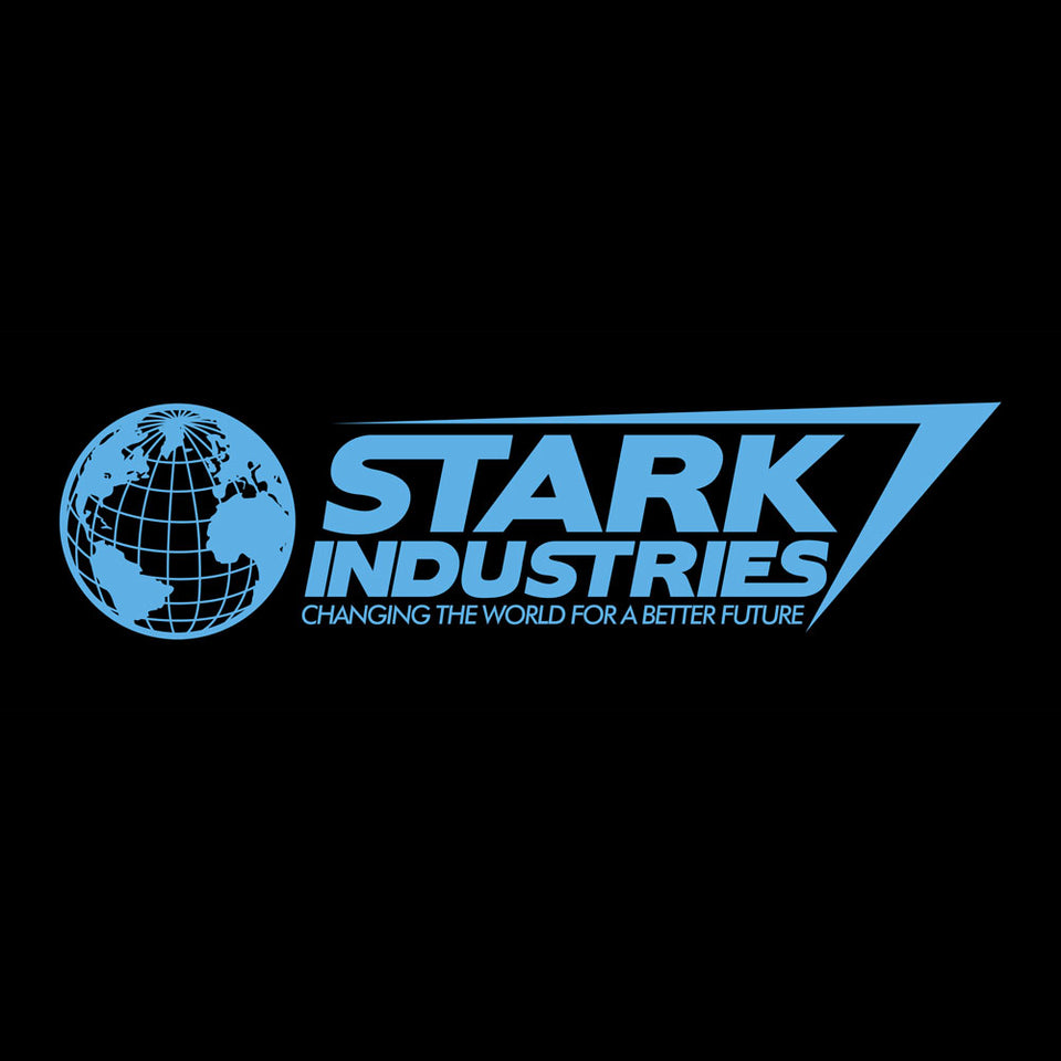 Marvel Comics Iron Man Stark Industries Fitted T-Shirt