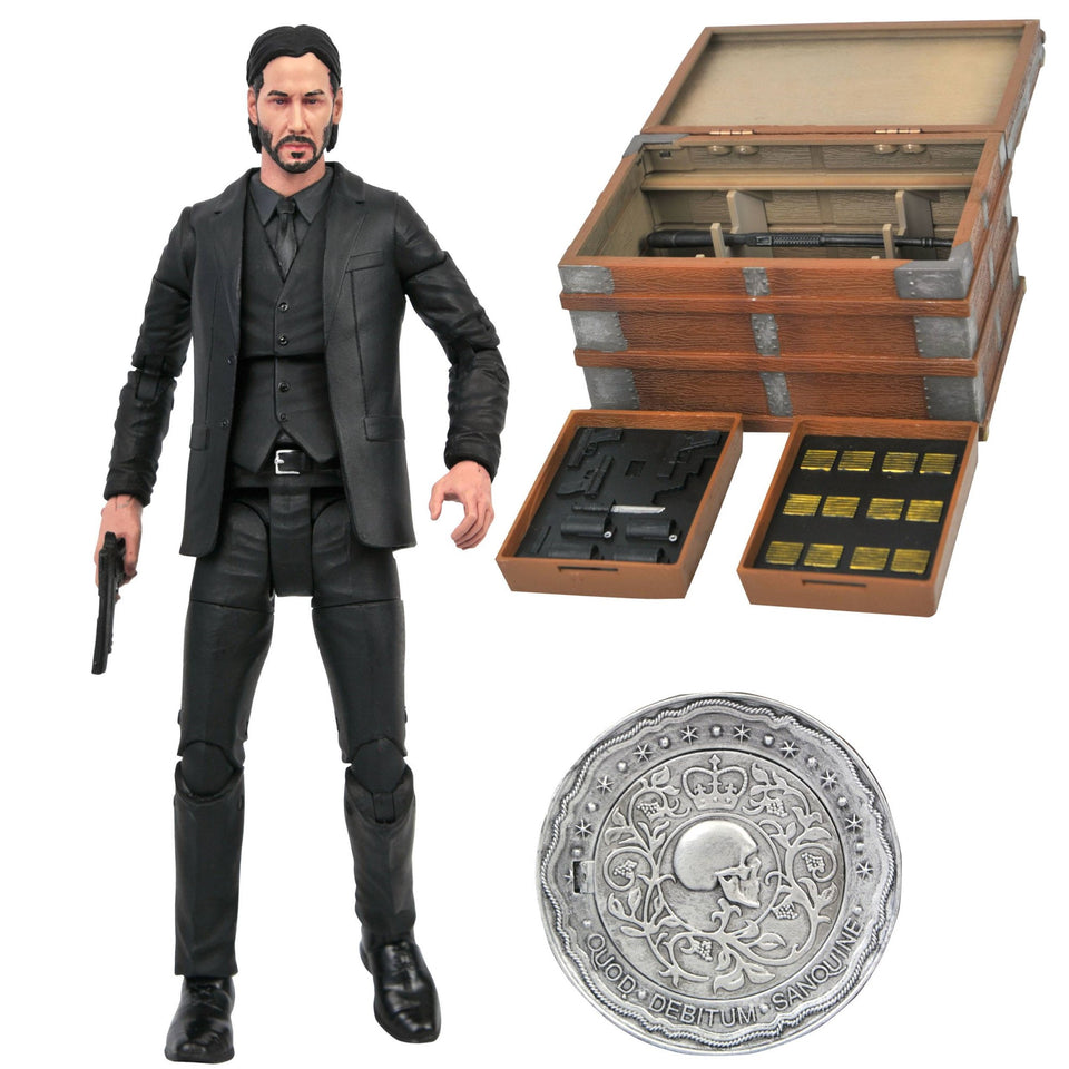 Diamond Select Toys John Wick 7 Inch Action Figure PRE-ORDER