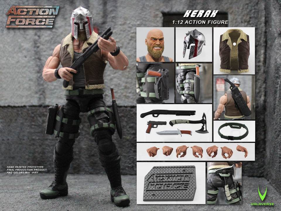 Action Force Kerak 6 Inch Action Figure PRE-ORDER