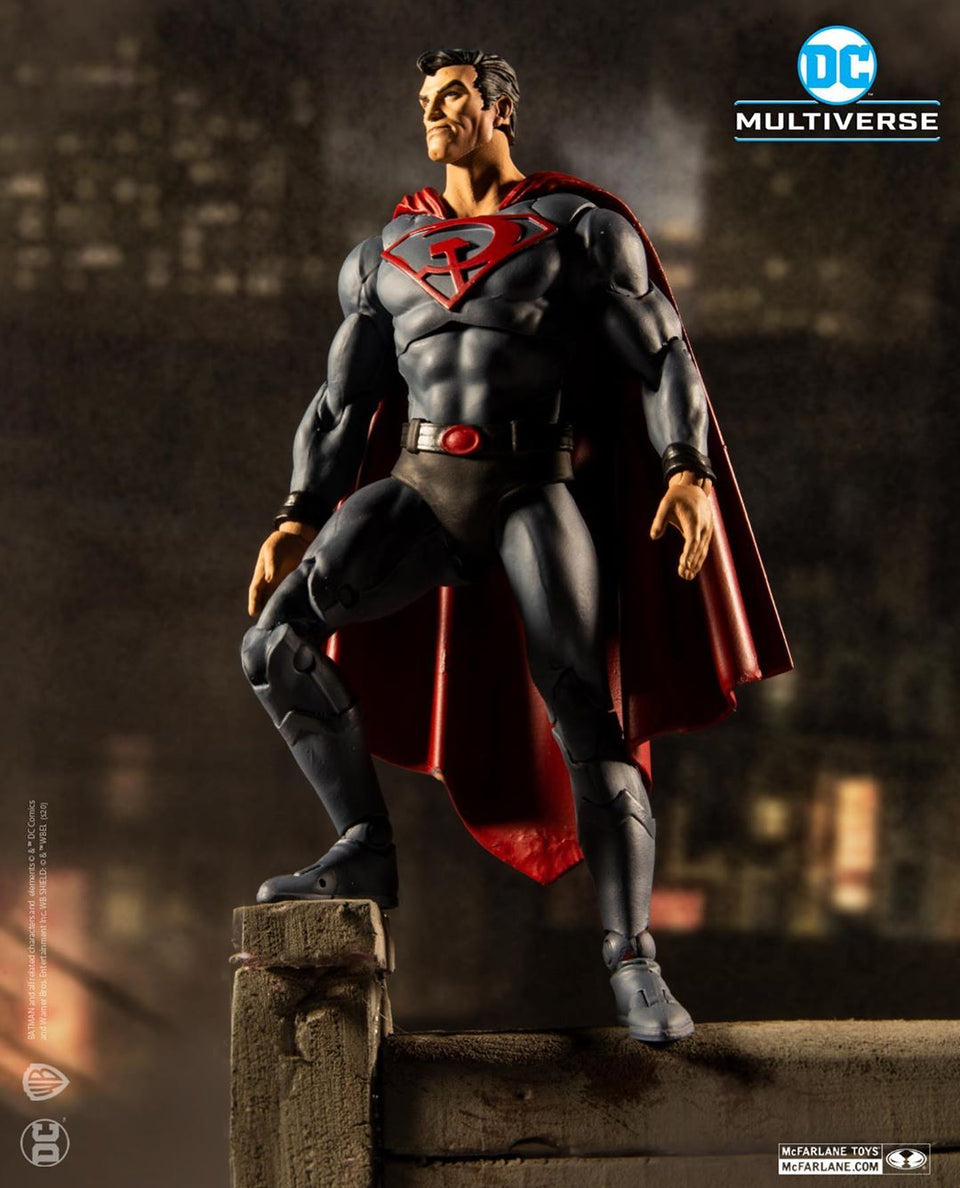 DC Multiverse Red Son Superman Action Figure