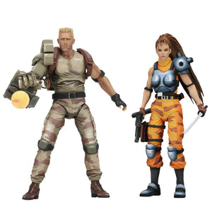 NECA Alien vs Predator Dutch & Lin Arcade 7 Inch Action Figure 2 Pack