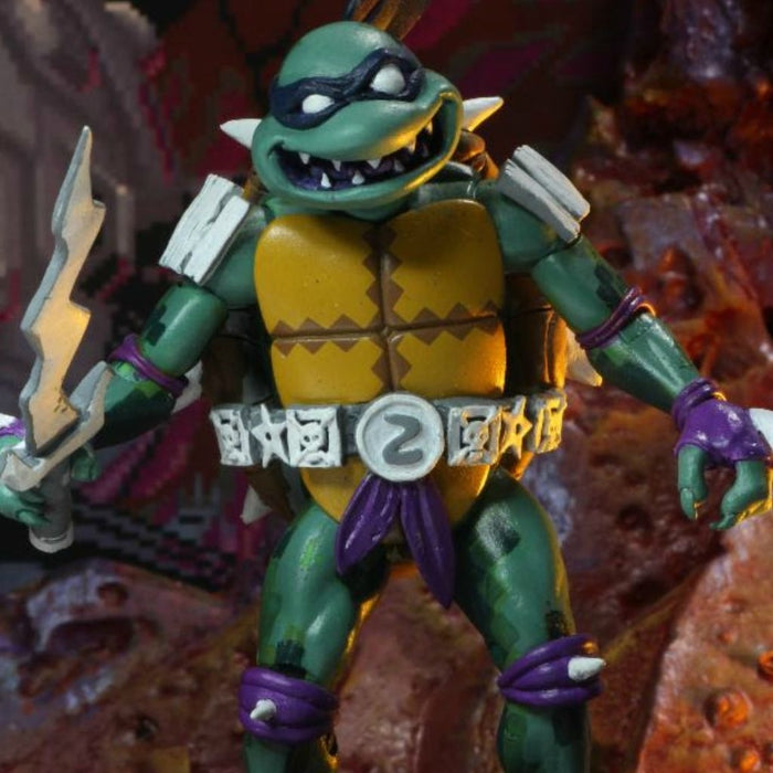 NECA TMNT Turtles in Time Slash 7 Inch Action Figure PRE-ORDER