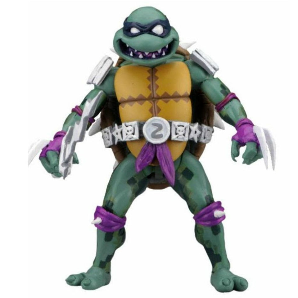NECA TMNT Turtles in Time Slash 7 Inch Action Figure