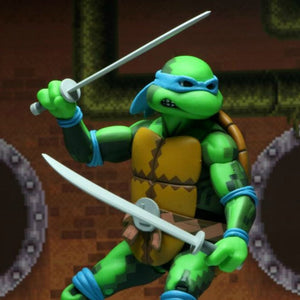 NECA TMNT Turtles in Time Series 1 Leonardo 7 Inch Action Figure PRE-ORDER