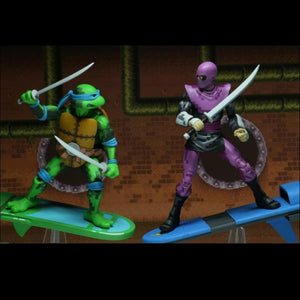 NECA TMNT Turtles in Time Leonardo 7 Inch Action Figure