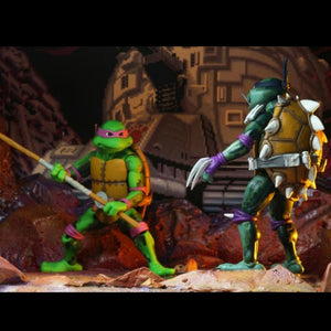 NECA TMNT Turtles in Time Donatello 7 Inch Action Figures