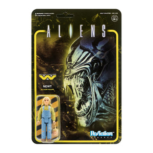 Super7 Aliens ReAction Newt 3.75 Inch Action Figure