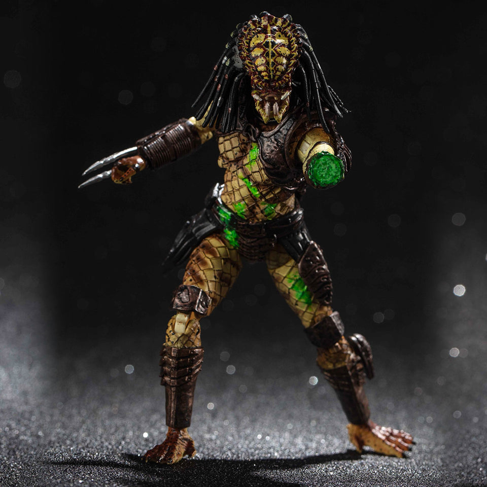 Hiya Toys Previews Exclusive Predator 2 Battle Damaged City Hunter Action Figure