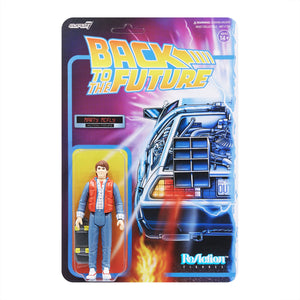 "Super7 Back to the Future 1 ReAction Marty McFly 1980's 3.75"" Action Figure"