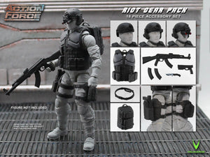 Action Force Riot Gear Pack Accessory Pack PRE-ORDER
