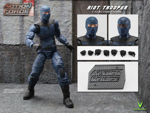 Action Force Riot Trooper 6 Inch Action Figure PRE-ORDER