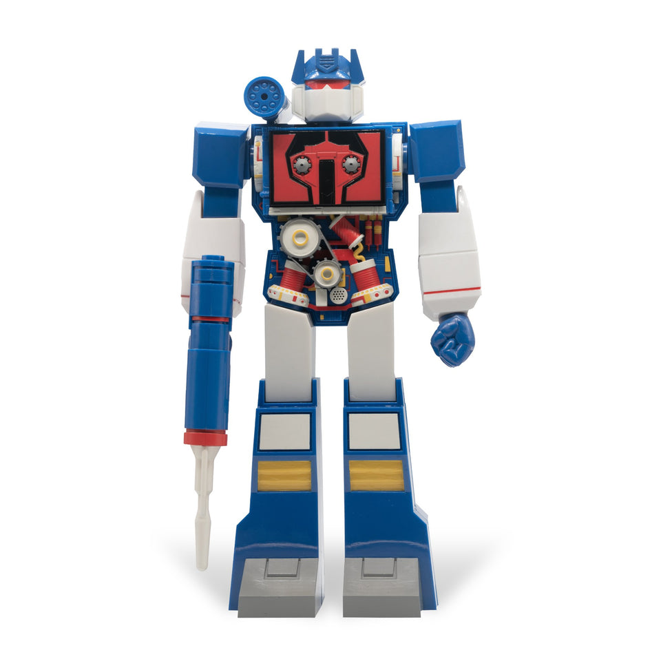Super7 Super Cyborg Transformers Soundwave 12 Inch Action Figure