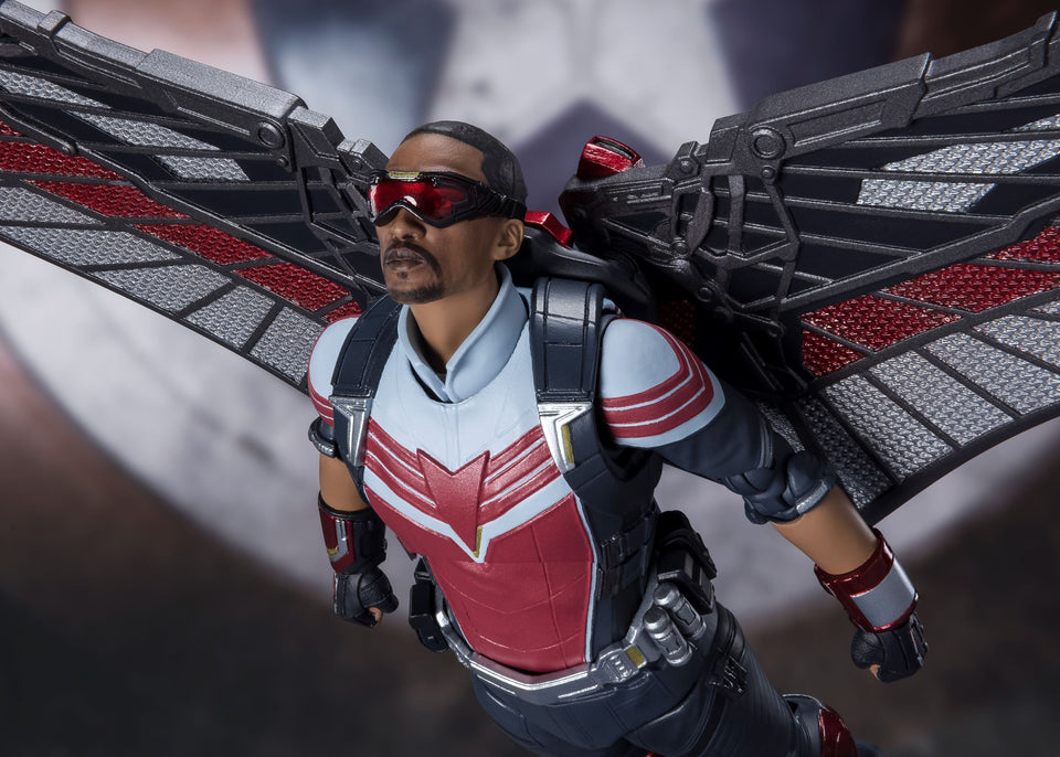 S.H. Figuarts Marvel The Falcon and the Winter Soldier: The Falcon FREE-SHIPPING / PRE-ORDER
