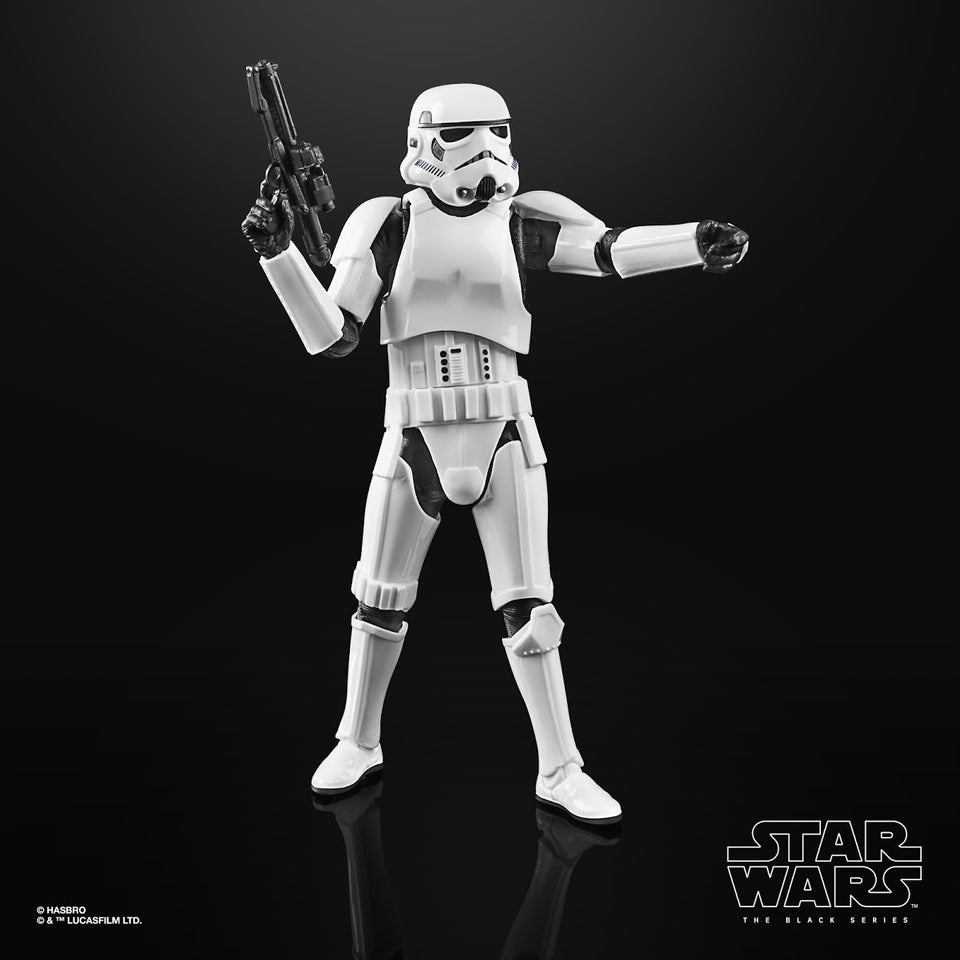 Star Wars The Black Series The Mandalorian Stormtrooper 6 Inch Action Figure
