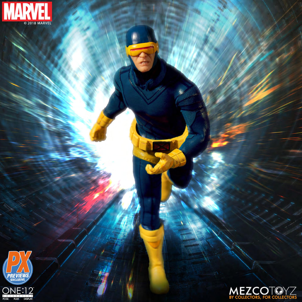 Mezco Toyz One:12 Collective PX Exclusive Classic Marvel Cyclops Action Figure FREE SHIPPING