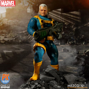 Mezco Toyz One:12 Collective PX Exclusive X-MEN Cable Action Figure FREE SHIPPING
