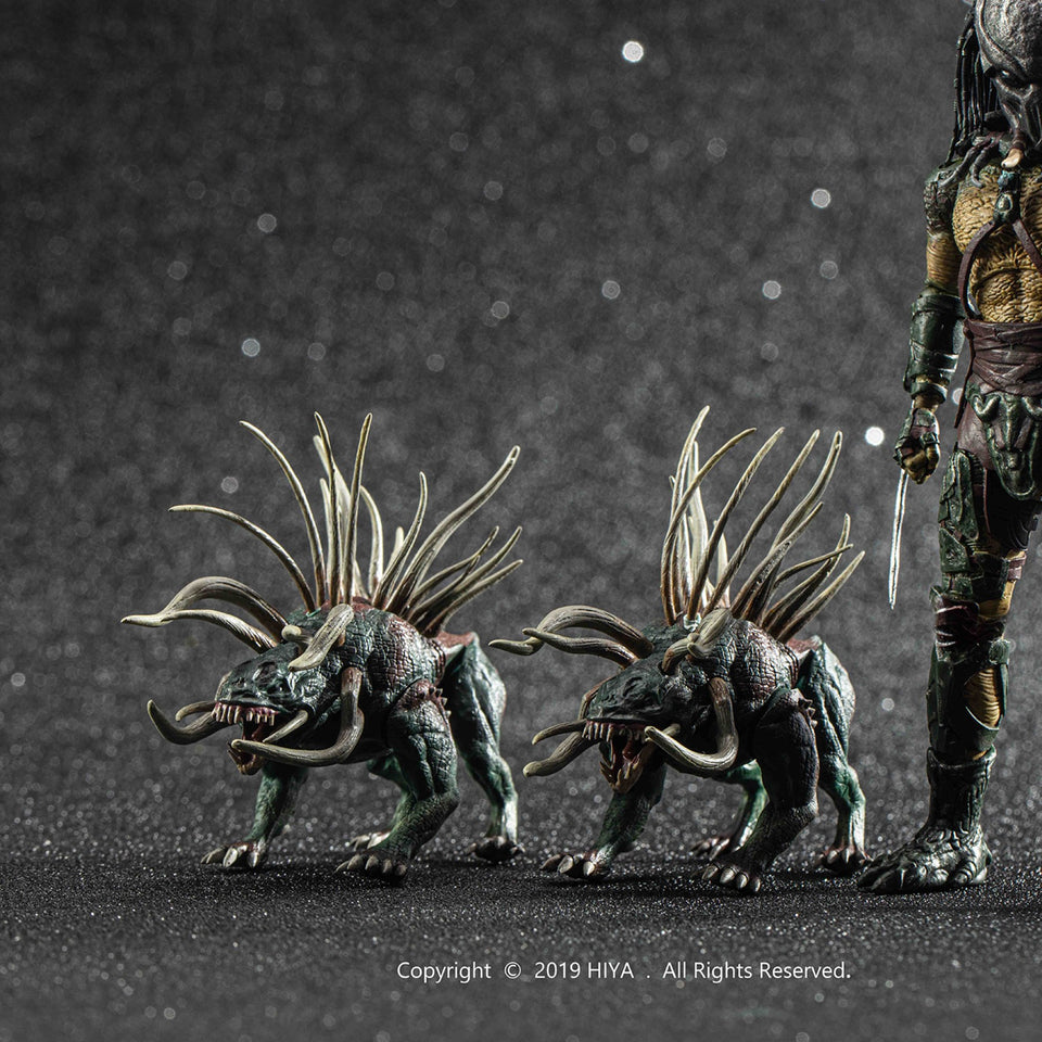 Hiya Toys Previews Exclusive Predators Tracker Predator 1/18 Scale Figure